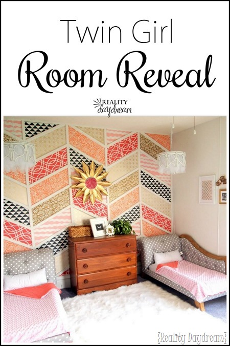 Dreamy Little Girls' Room Reveal #toddlers #twins #shared {Reality Daydream}
