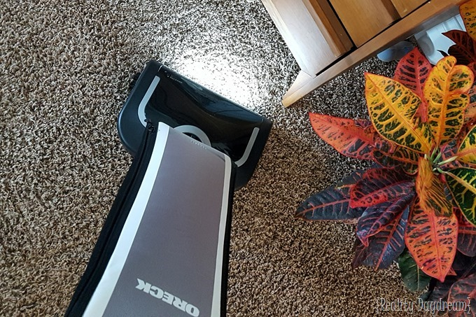 Oreck Elevate Conquer Vacuum - Weekly cleaning items to remember!! {Reality Daydream}