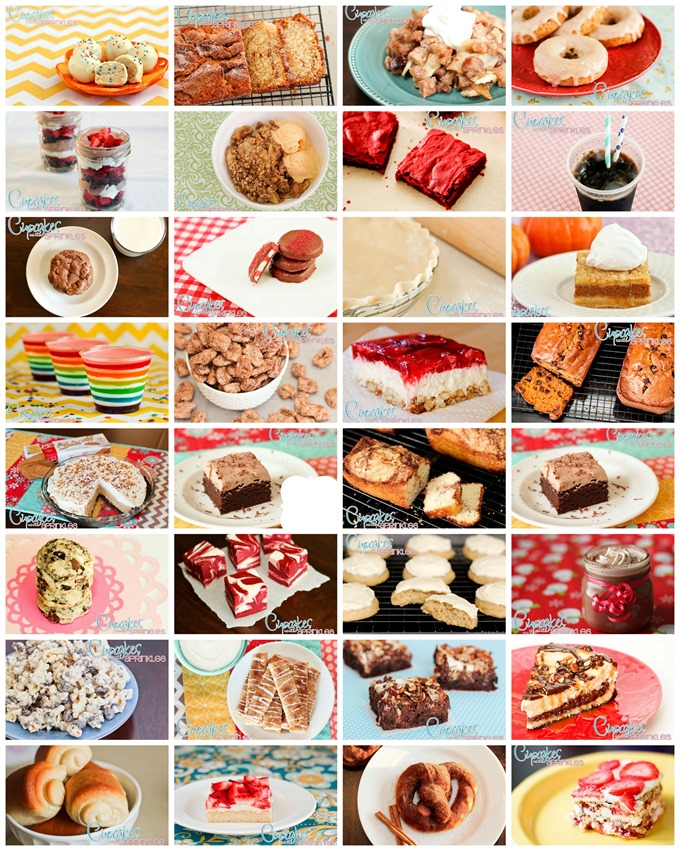 Sooooo many yummy recipe's by Cupcakes with Sprinkles!
