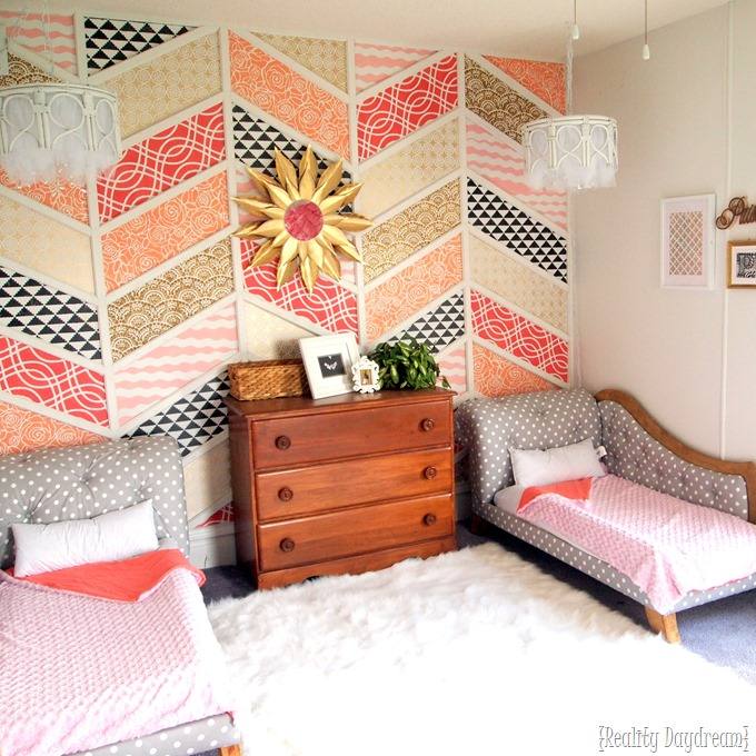 Twins' adorable toddler room transformation! {Reality Daydream}