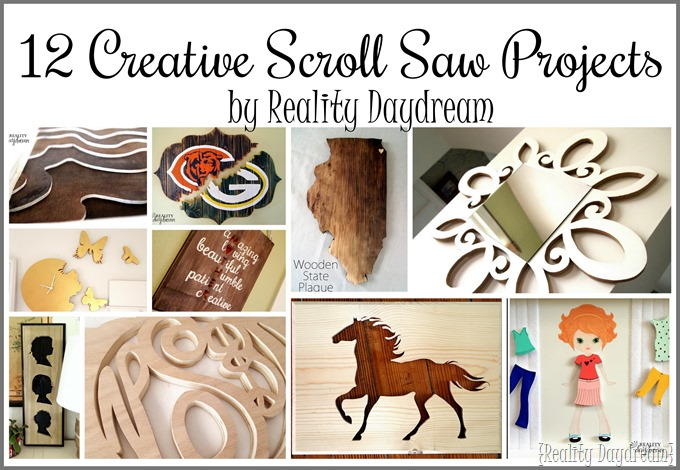12 Creative Scroll Saw Projects {Reality Daydream}