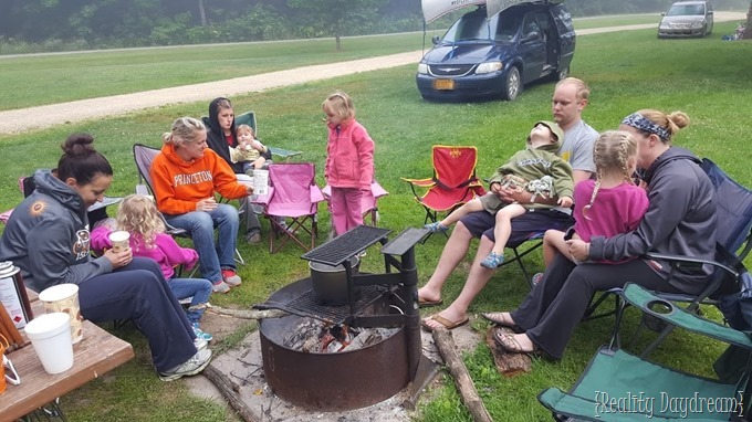 Camping with KIDS {Reality Daydream}