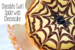 Chocolate Spider Halloween Cheesecake Dessert {Reality Daydream}