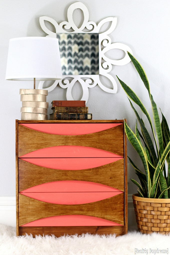 Mid-Century Modern Night Stands from an IKEA Rast Hack!! {Reality Daydream}