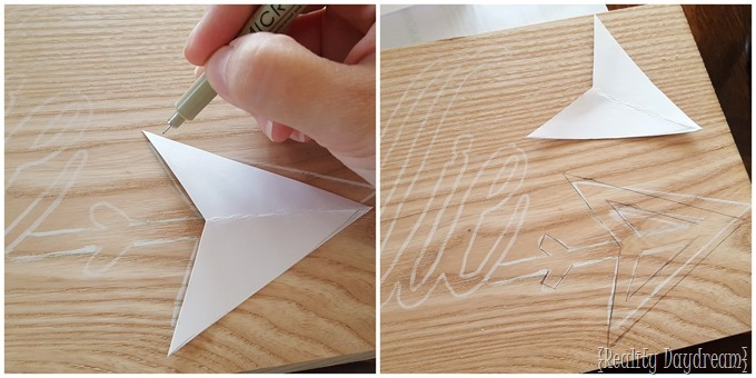 Make a wooden name plaque with a scroll saw! GREAT handmade gift idea! {Reality Daydream}
