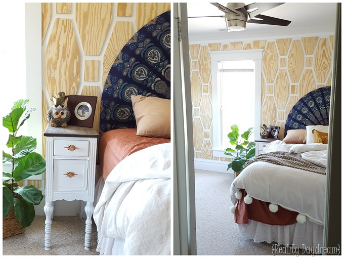 Unique Boho Master Bedroom Makeover... everything's a DIY tutorial!