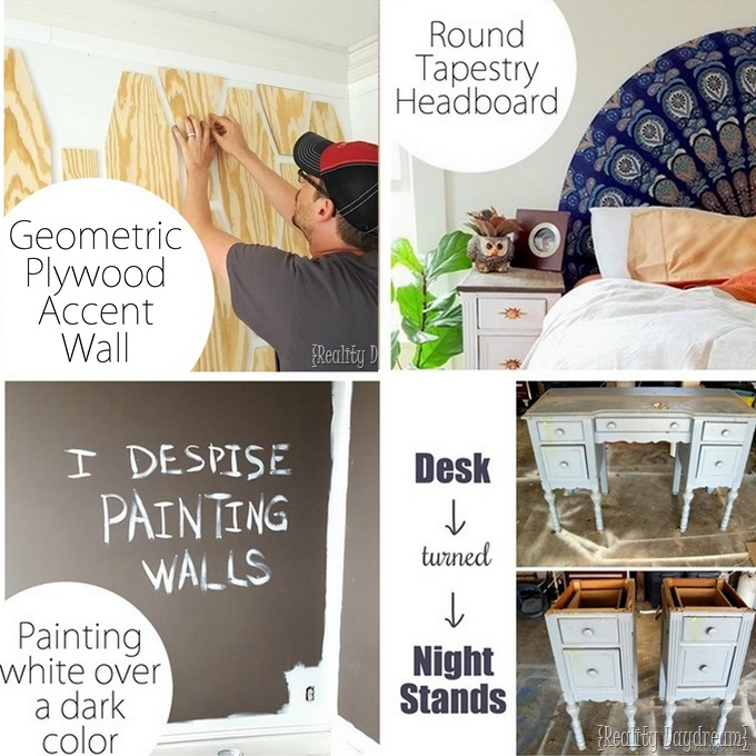 Master Bedroom Projects