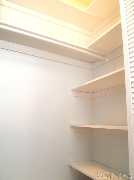Add Some DIY Shelving To Your Builder Basic Closet, And Get SO MUCH Extra