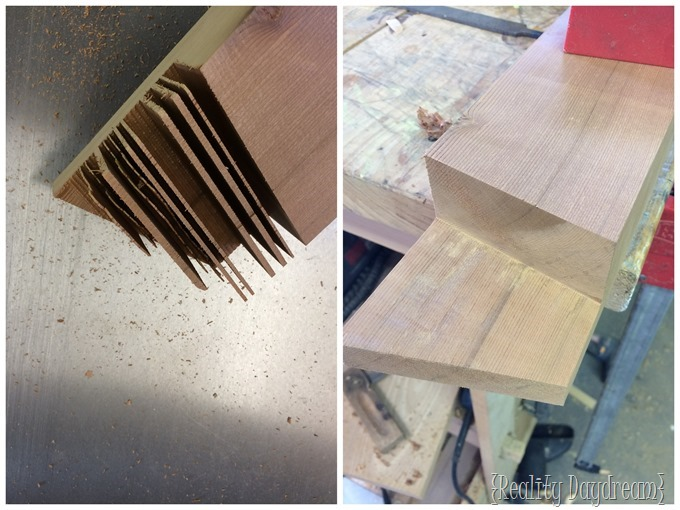 Clear out any remaining chunks of wood with a chisel, rasp and file.