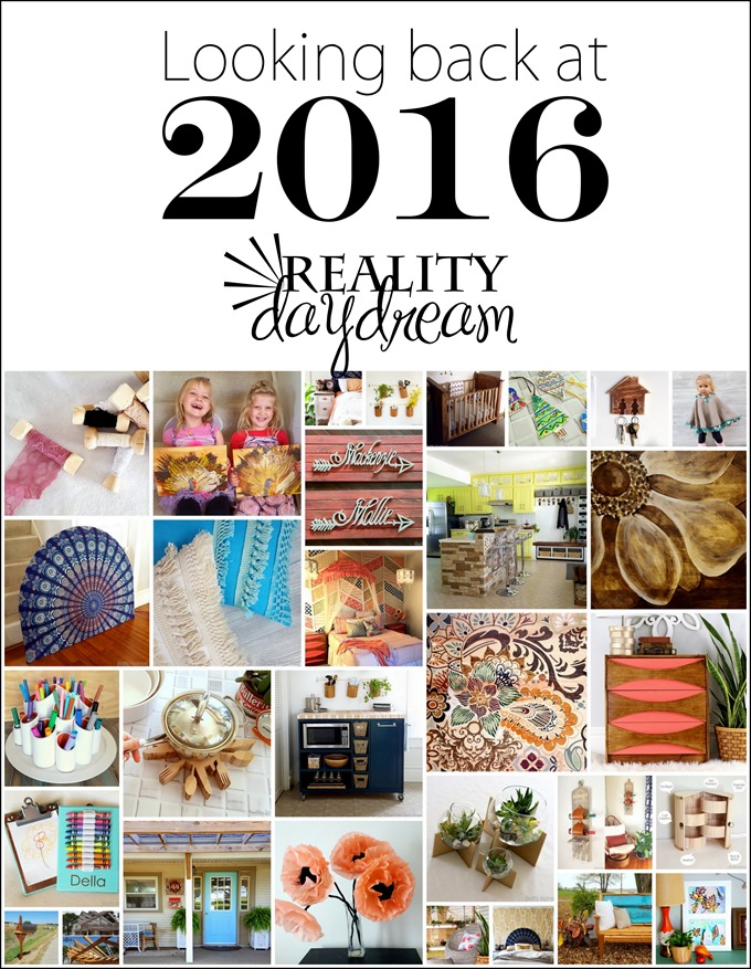 Looking back at 2016 - a years worth of blog posts by Reality Daydream