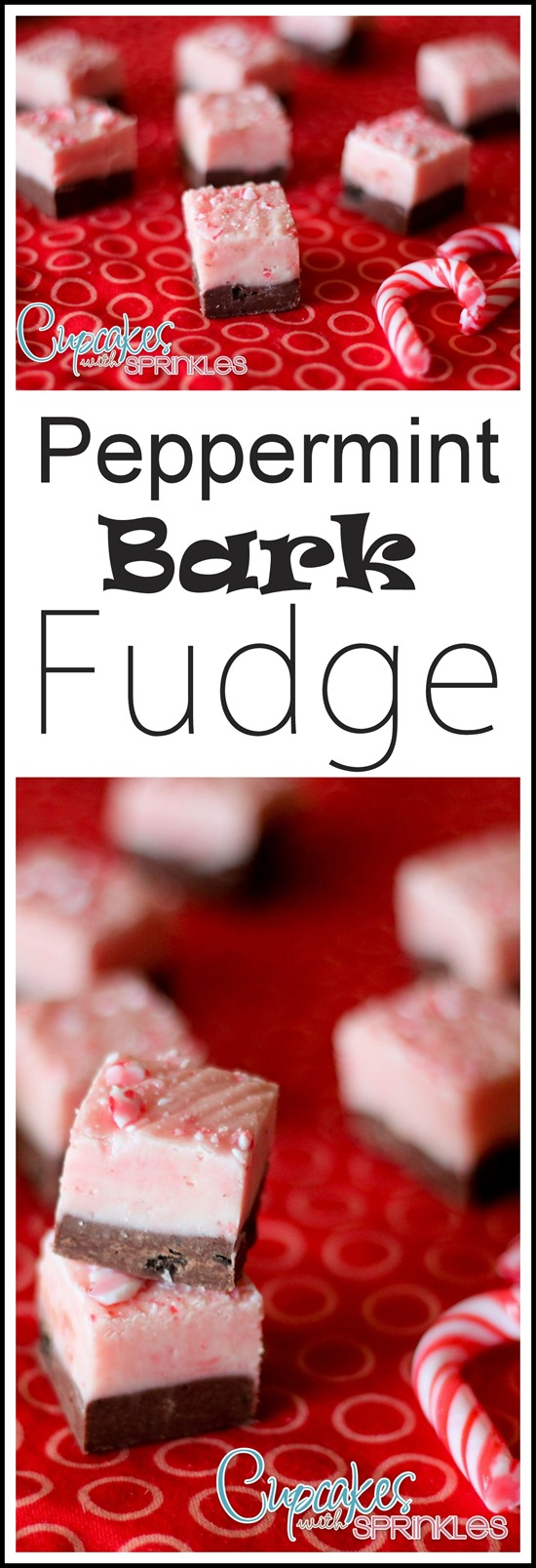 Peppermint Bark Fudge Recipe