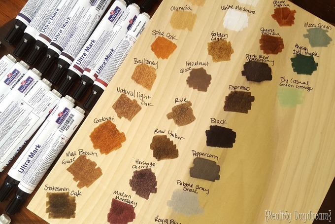 Use Mohawk Stain Pens to make this amazing Adult Coloring Book Art ON WOOD! {Reality Daydream}