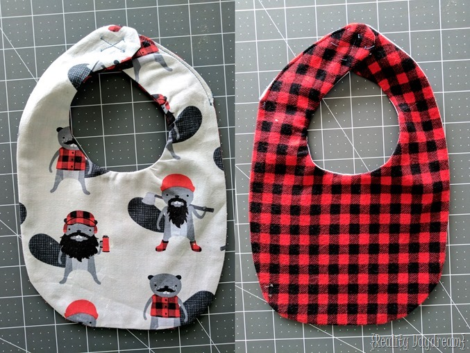Boy version of DIY Drool Bib tutorial {Reality Daydream}