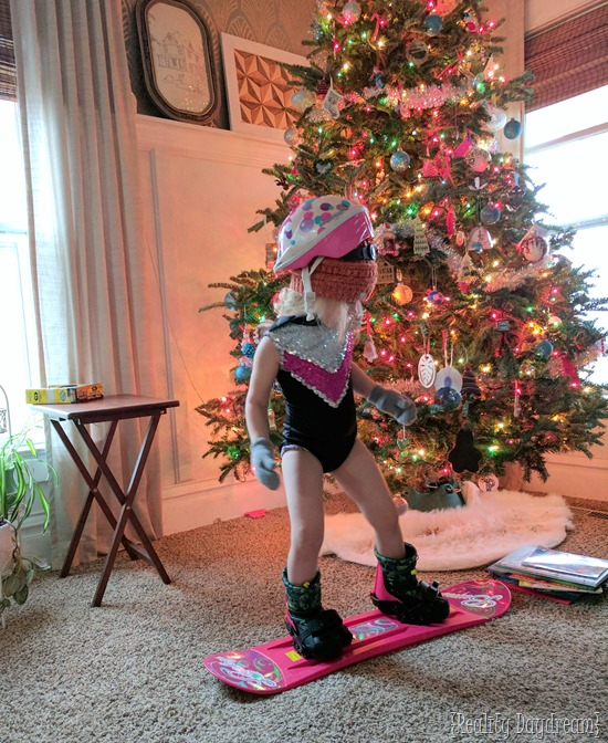 Paisley Rocking her new snoqboard {Reality Daydream}