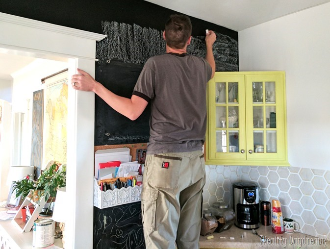 Season your Chalkboard Wall Command Center! {Reality Dayream}