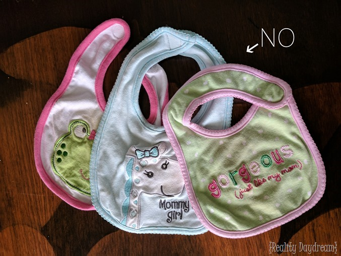 Ugly drool bibs... or make your own pretty ones with this tutorial! {Reality Daydream}.jpg