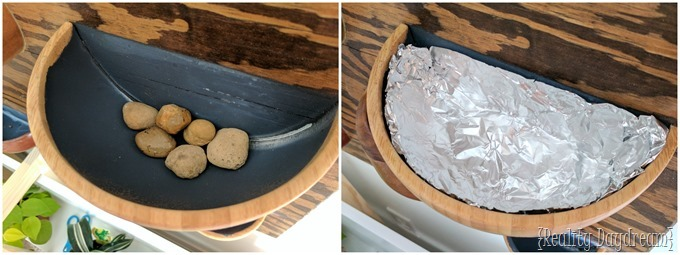 wooden bowl wall planter-004