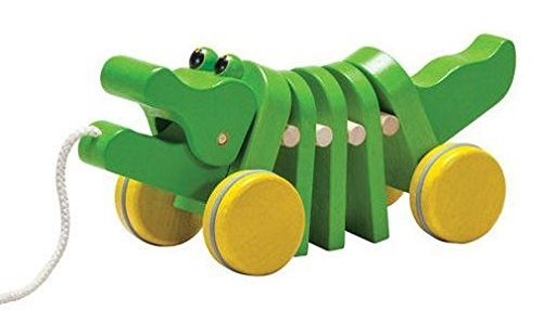 Dancing Alligator Pull Toy - Two year old gift guide {Reality Daydream}