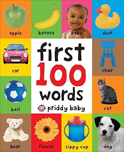 First 100 Words Board Book - 2-year old gift guide {Reality Daydream}