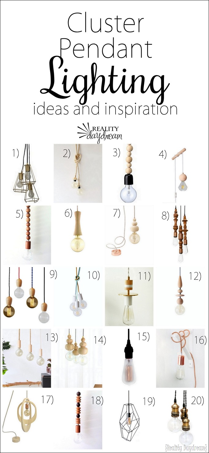 Pendant Lighting Ideas and Shopping Guide {Reality Daydream}