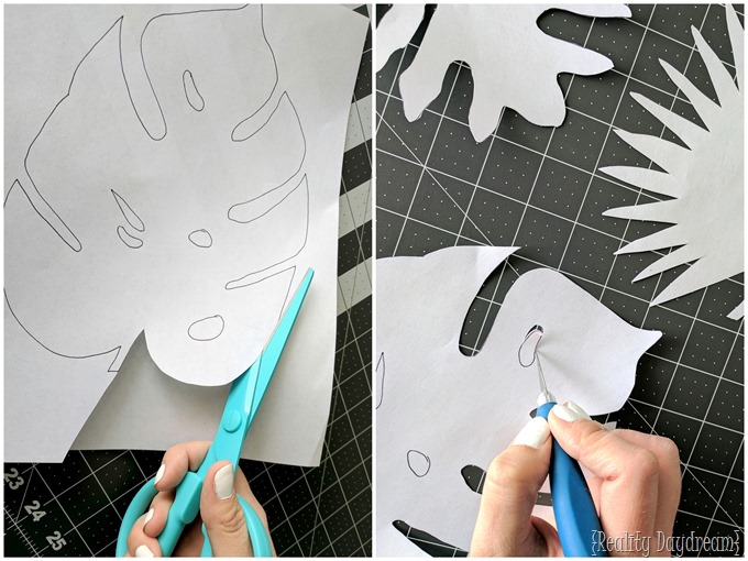 Scroll Saw Patterns for Botanical Leaf Trivets {Reality Daydream}