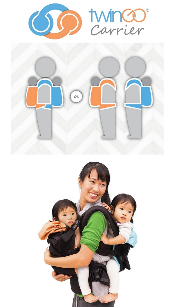 TwinGo Double Carrier for Twins {Reality Daydream}