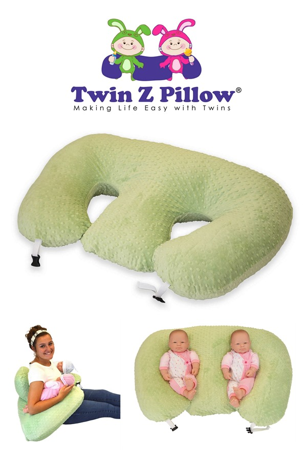 TwinZ Pillow 'Double Boppy' for twin babies! {Reality Daydream}