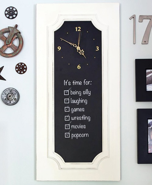 Clock sign by Pretty Handy Girl