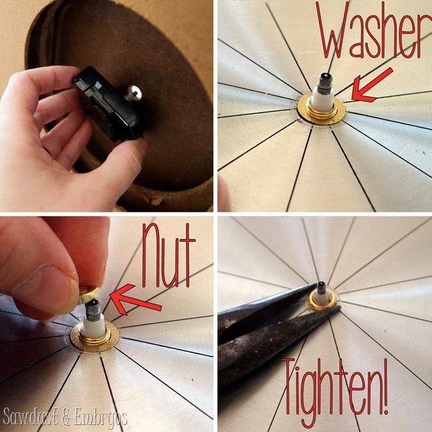 Fixing a broken clock, or adding a clock kit! {Reality Daydream}
