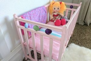 Baby Doll Crib Rescue–fixing the wobbly joints!