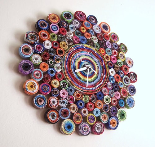Twisted Clock by Repurpose Relove