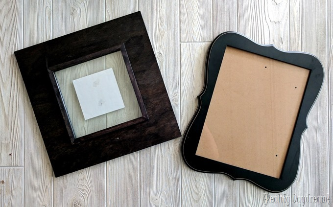 Picture frames for acid etching wedding gift ideas! {Reality Daydream}
