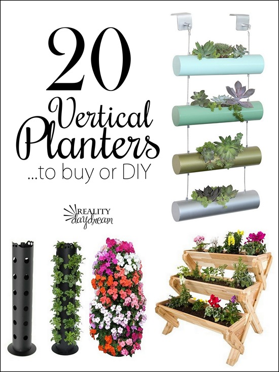 vertical planter roundup