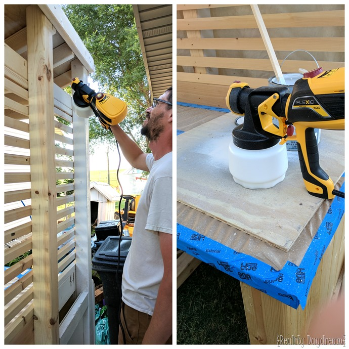 Priming an outdoor potting bench {Reality Daydream}
