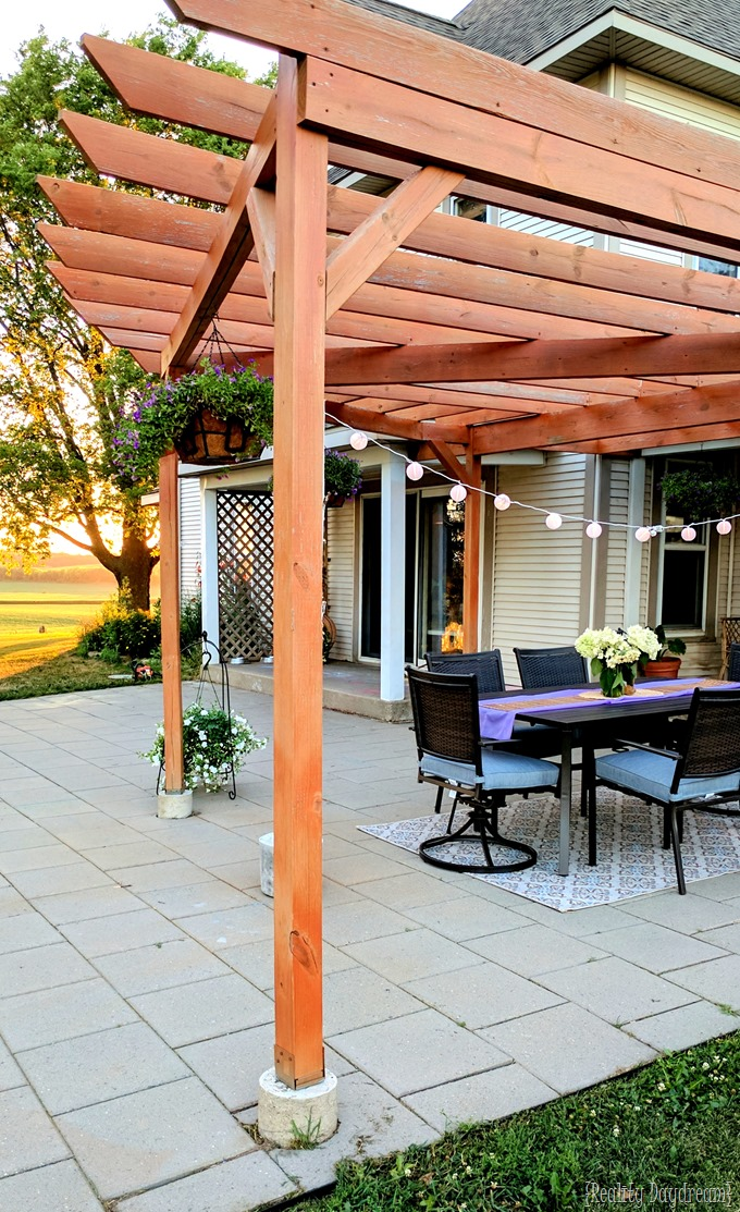 Patio, pergola, and outdoor entertaining by Reality Daydream