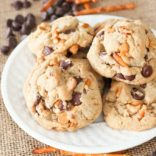 Butterscotch Pretzel Cookies