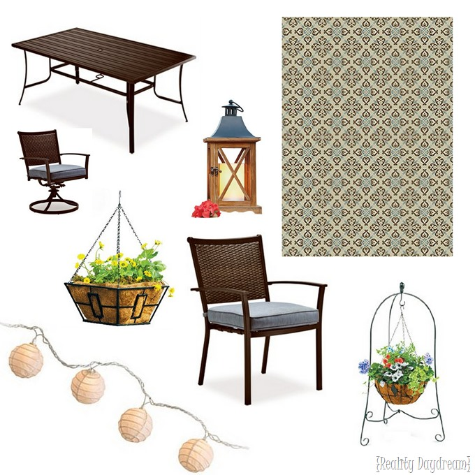 Epic  Patio Furniture which is totally on sale right now I suspect you won ut be disappointed Here us our True Value haul plete with source links below