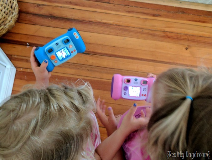 vTech camera for twins 6th birthday {Reality Daydream}