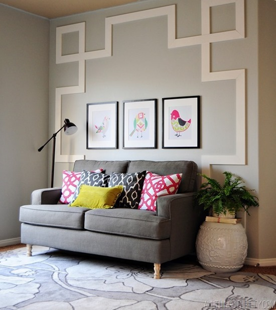 Accent Wall Pictures: 14 Creative And UNIQUE Ideas For Accent Walls! {Reality