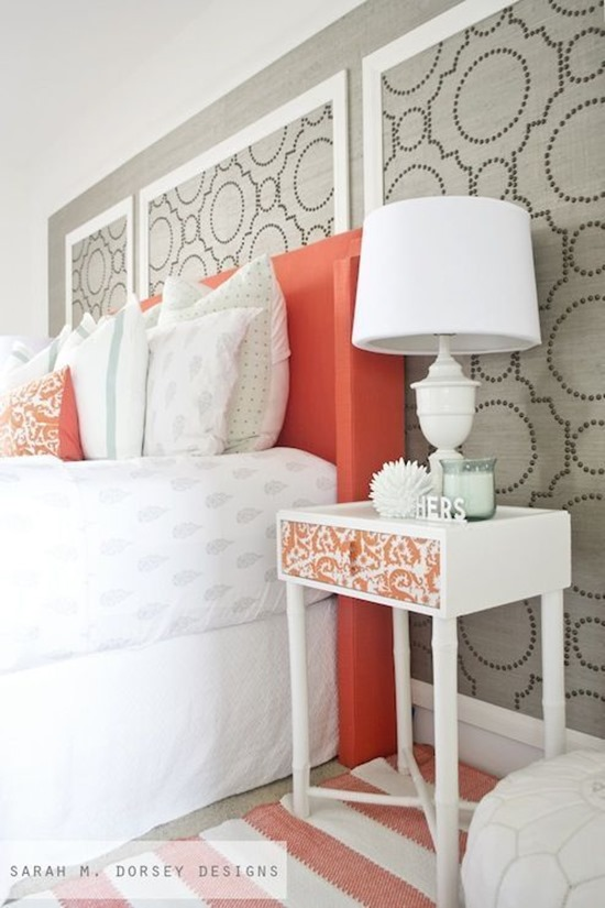 Nailhead Feature Wall by Sarah Dorsey Designs