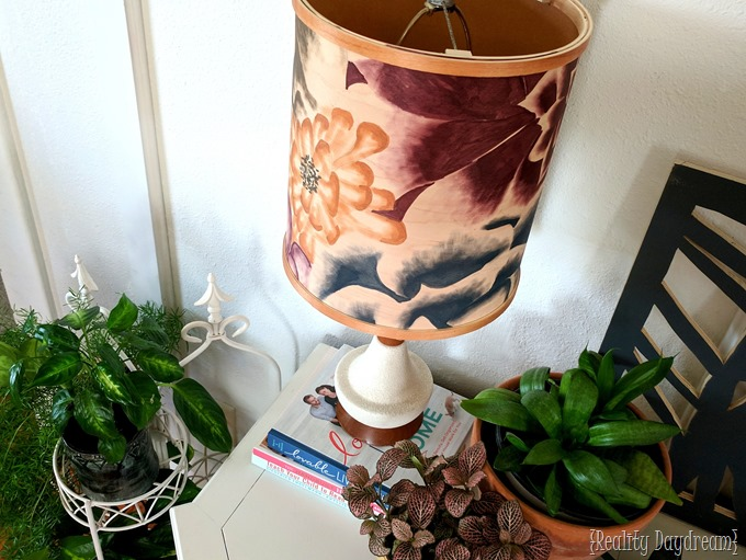 Stained Lampshade made from wood veneer! {Reality Daydream}