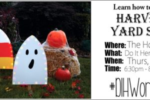 Harvest Yard Sign Workshop