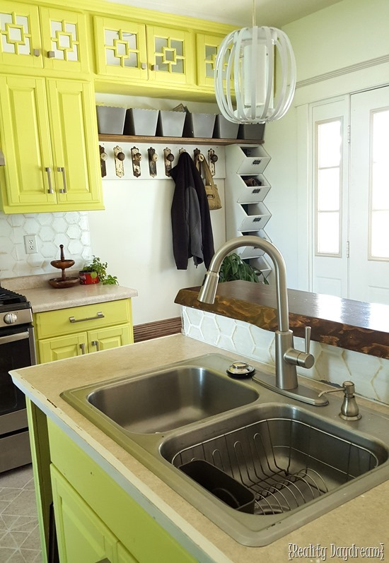 Kitchen Mudroom combo {Reality Daydream}