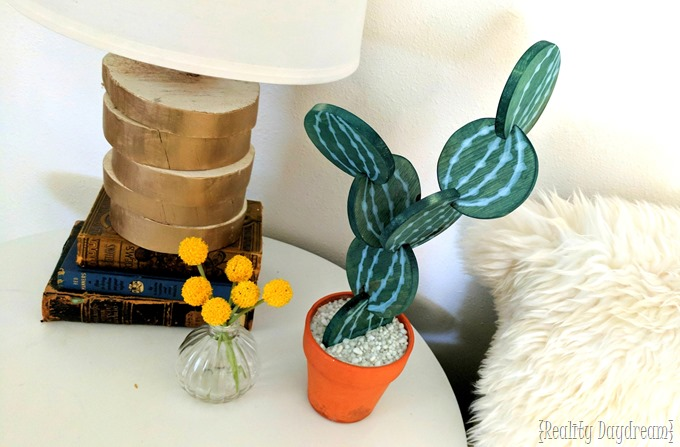 Cactus Coaster DIY Tutorial by Reality Daydream