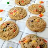 Soft Batch Candy Corn GORP Cookies