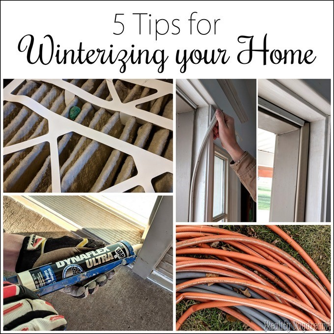 5 important tips for Winterizing your House {Reality Daydream}