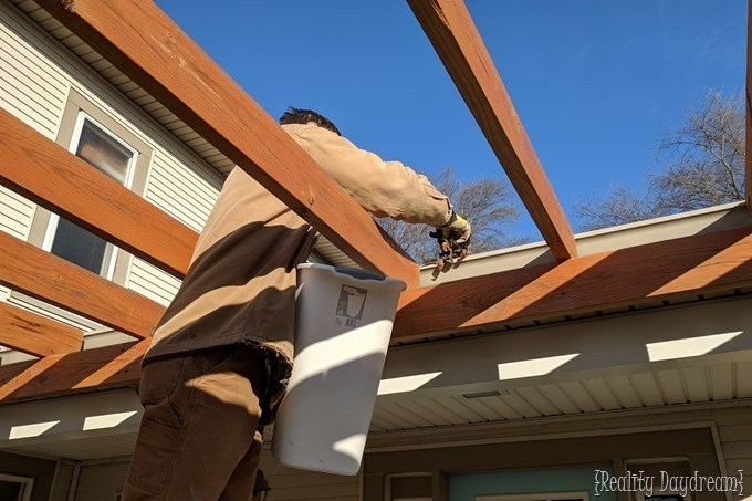 Clean out gutters as part of your winterization efforts {Reality Daydream}