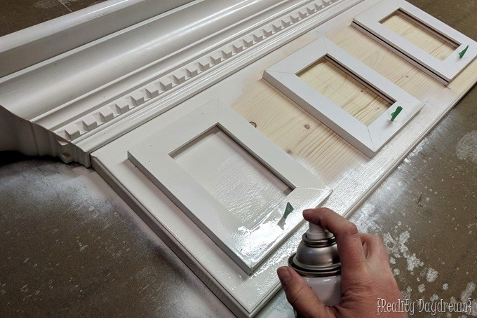 How to make a fireplace mantel inspired shelf for hanging Christmas Stockings! {Reality Daydream}