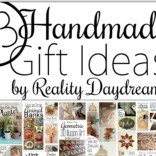 TONS of DIY Homemade Gift Ideas