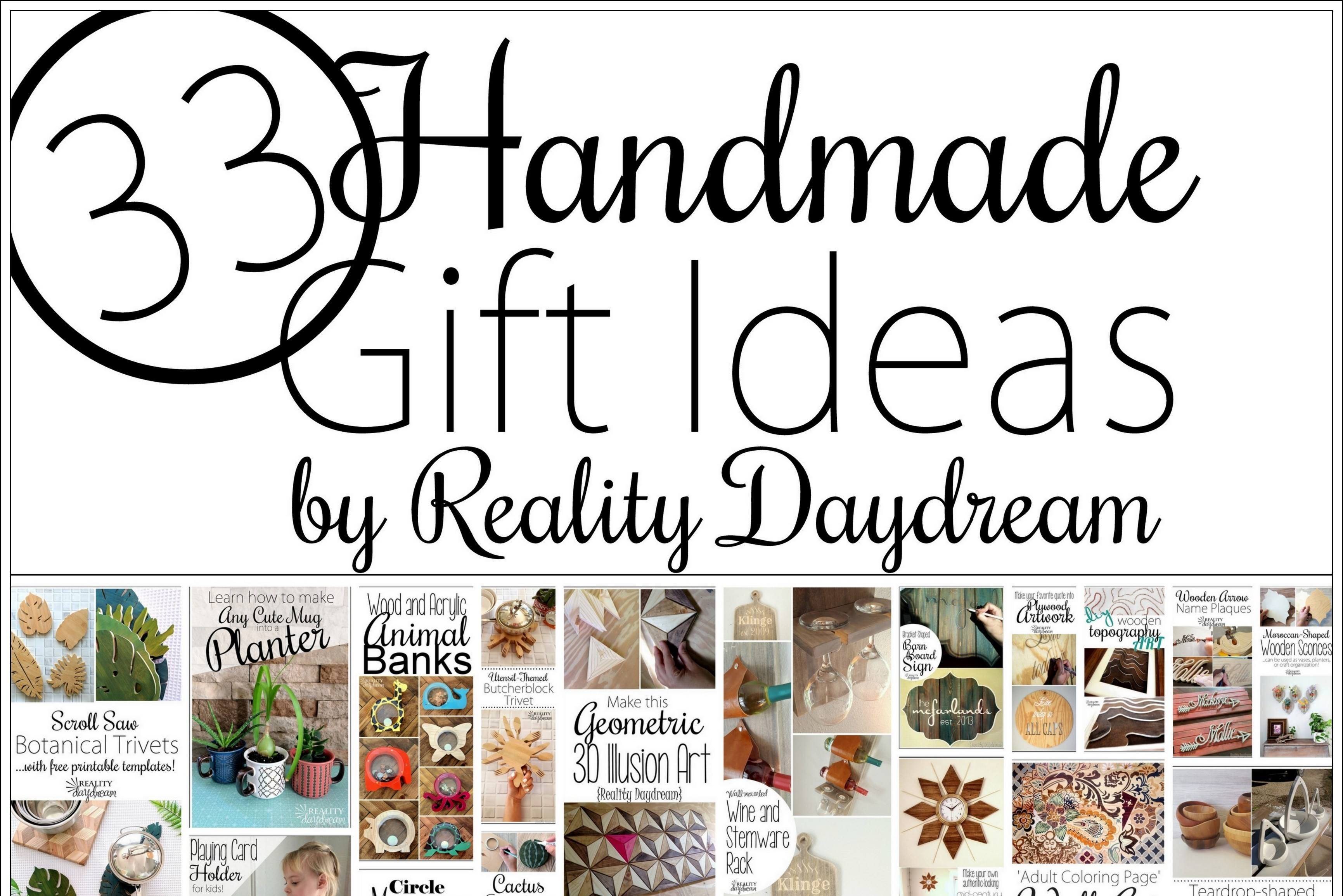 jackpot of homemade gift ideas and tutorials reality daydream